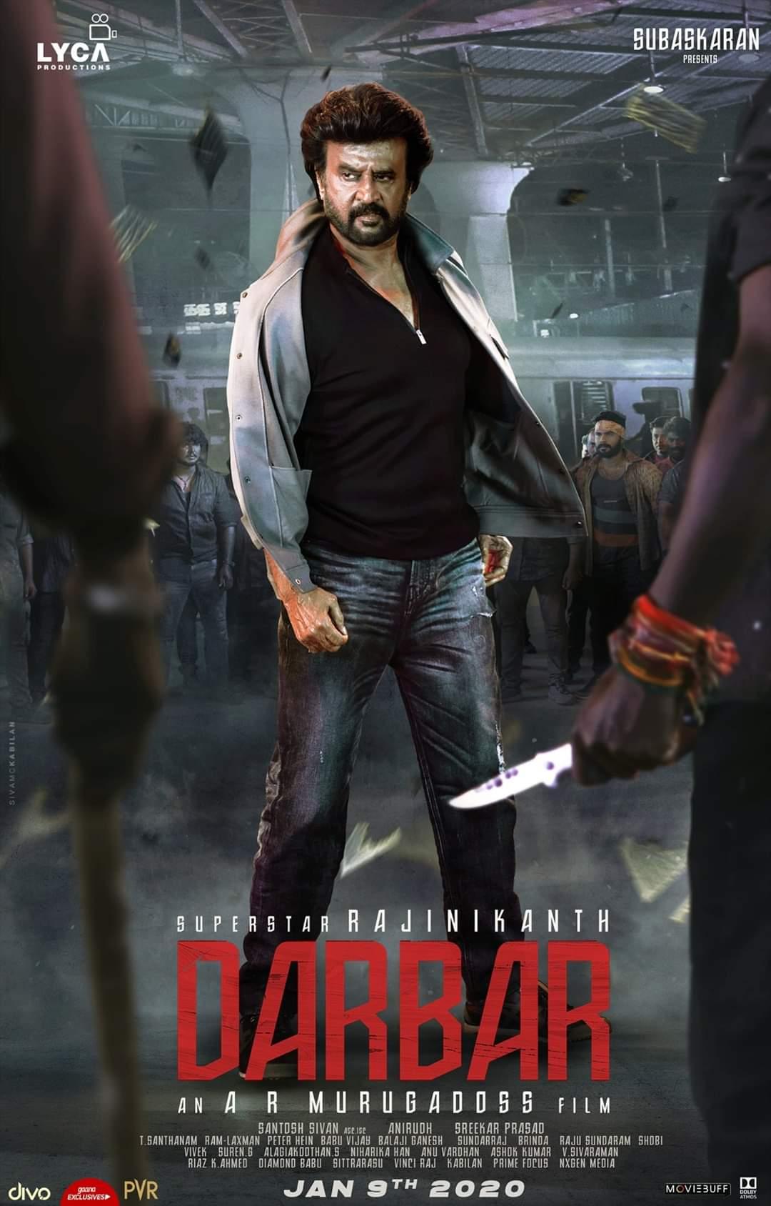 Darbar Poster 1