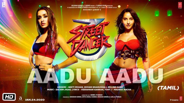 Aadu Aadu Video Song | Street Dancer 3D Tamil Video