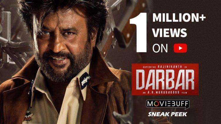 Darbar Movie scene