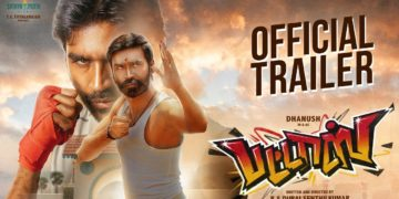 Dhanush played dual roles pattas trailer
