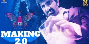 Disco raja movie making video 2