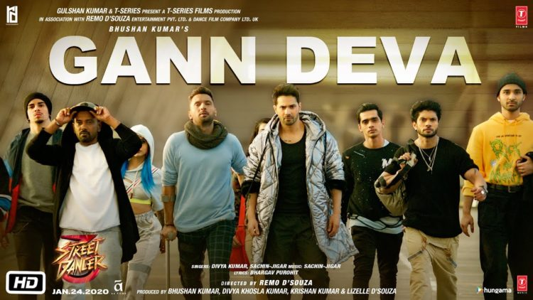 Gann Deva Video | Street Dancer 3D Movie Songs
