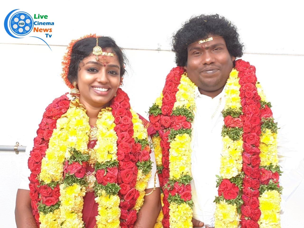 Yogibabu at the wedding