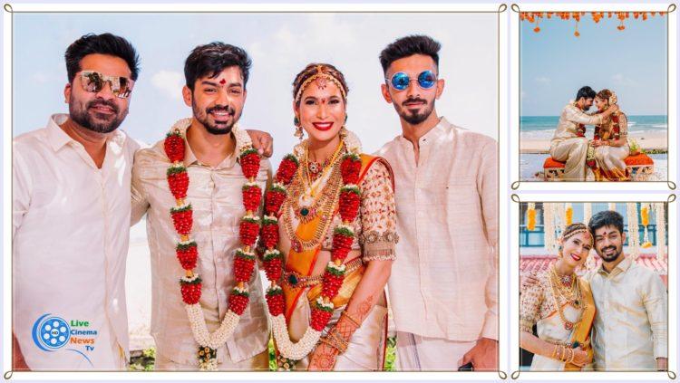 Mahat Raghavendra and Prachi Mishra Marriage Photos
