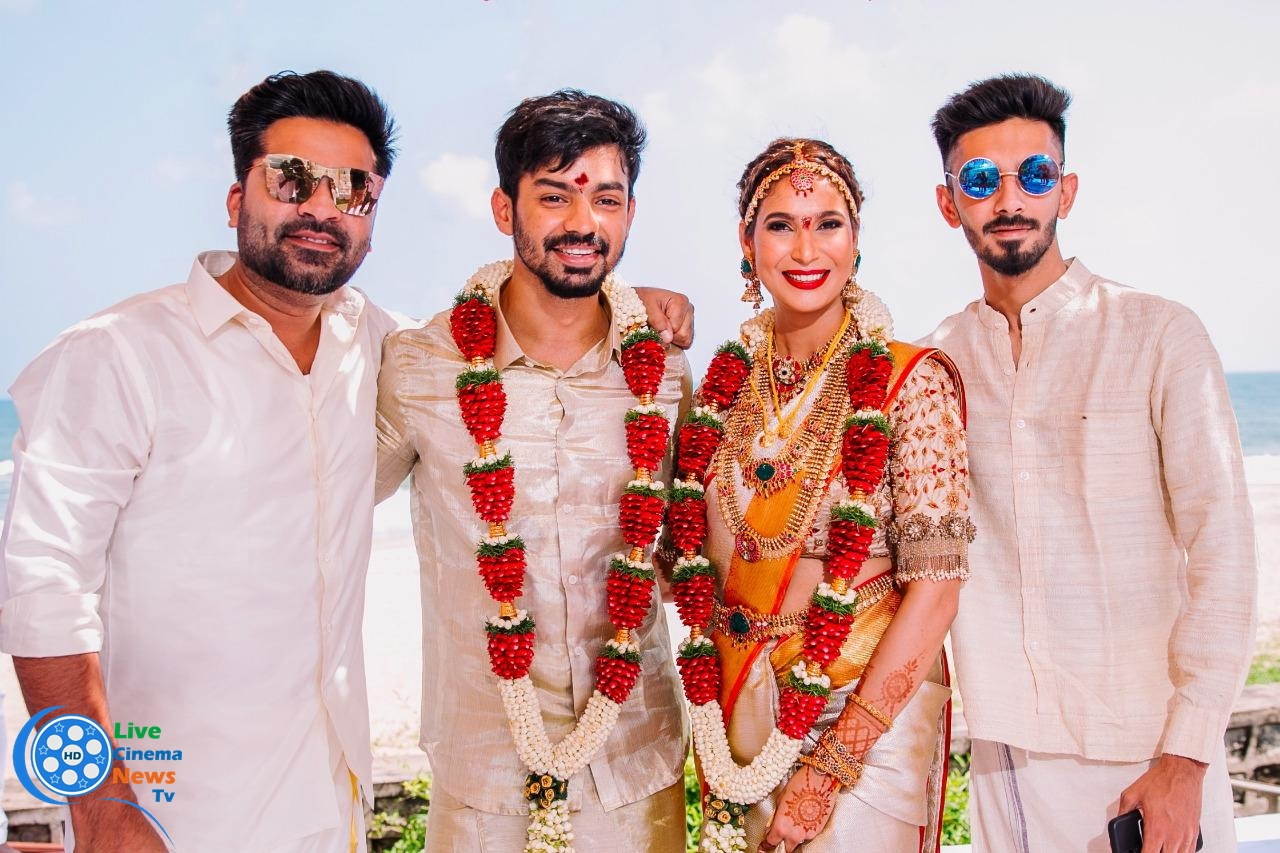 MahatRaghavendra vs PrachiMishra Wedding photo