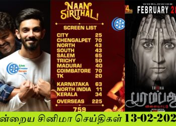 Today Tamil Cinema News 13 02 2020