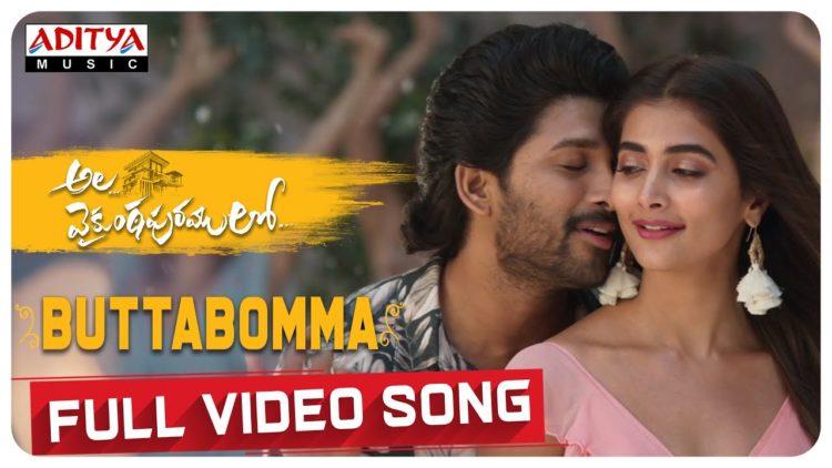 ButtaBomma Full Video Song | Ala Vaikuntha purramuloo (4K) Songs