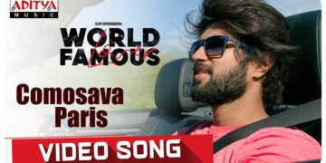 Comosava Paris Video Song | World Famous Lover Movie Songs