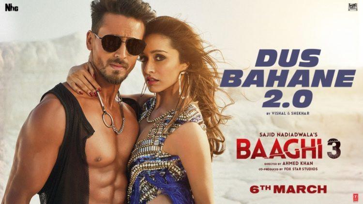Dus Bahane 2.0 Video | Baaghi 3 Movie Songs