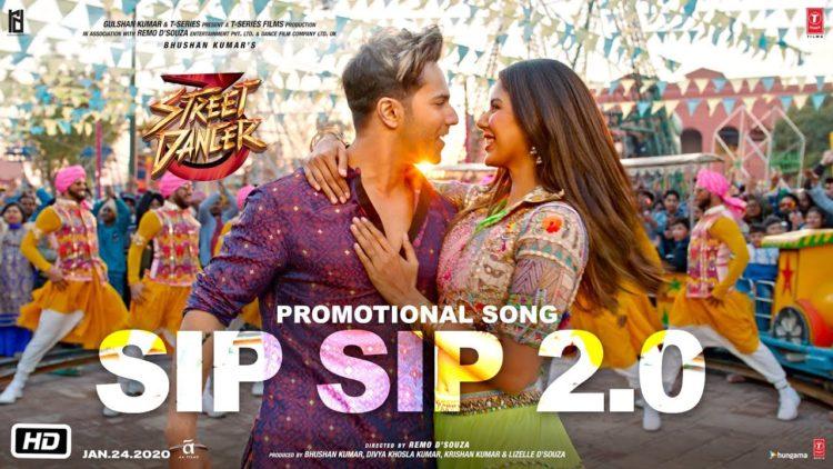 Sip Sip 2.0 Video | Street Dancer 3D Movie songs