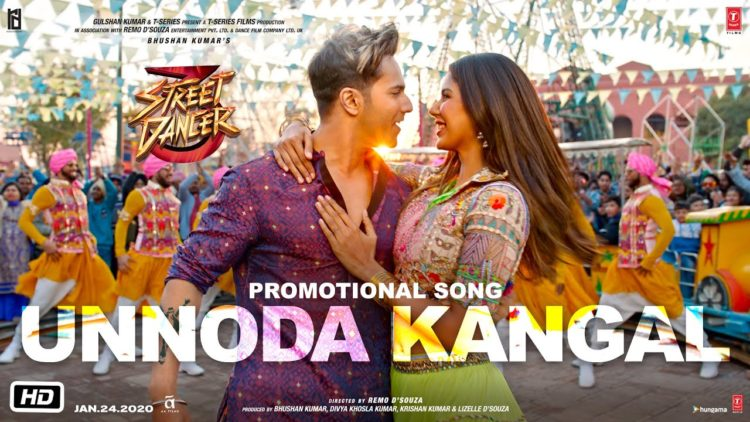Unnoda Kangal Video | Street Dancer 3D Tamil Songs