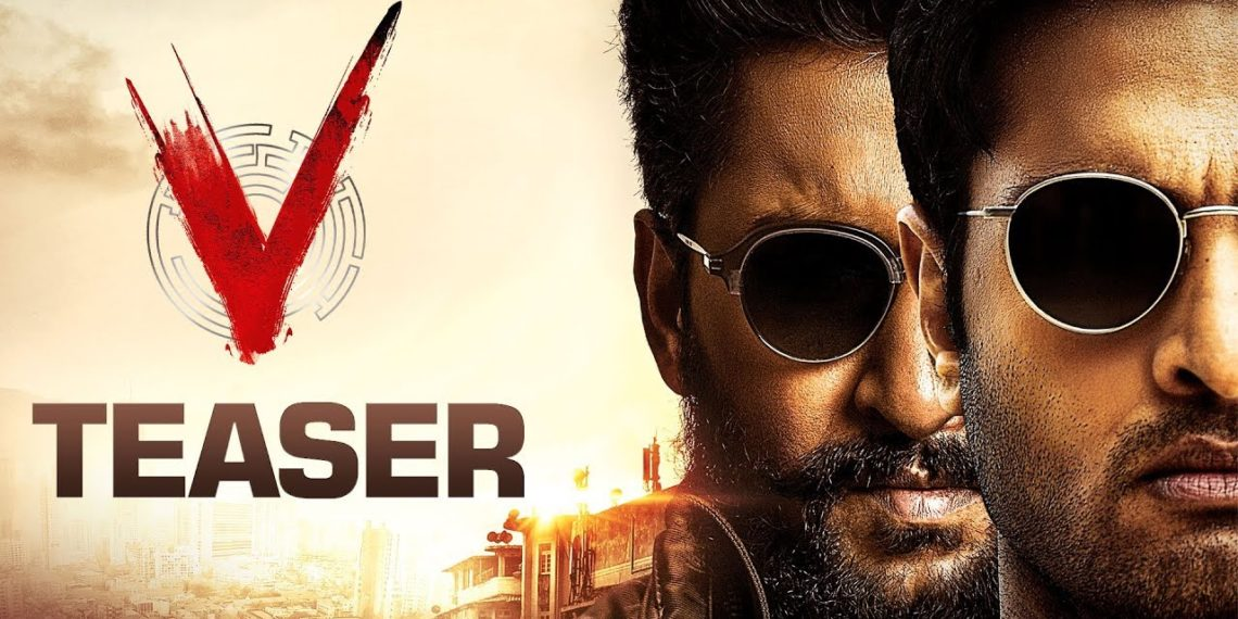 V Telugu Movie Teaser