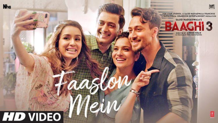 Faaslon Mein Video | Baaghi 3 Movie Songs