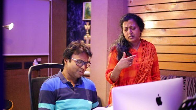 KANNAANA KANNEY Kannada SONG MAKING Video