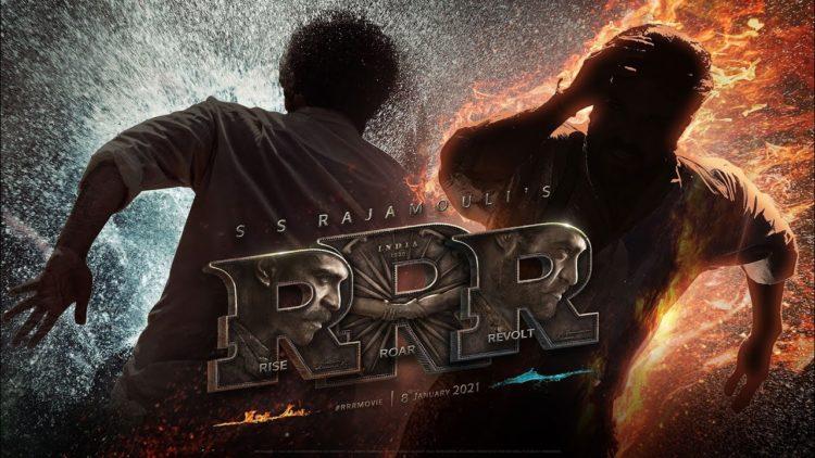 S.S. Rajamouli'S RRR Movie Hinidi Motion Poster