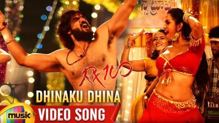 Dhinaku Dhina Da Video Song | Rx100 Movie Songs