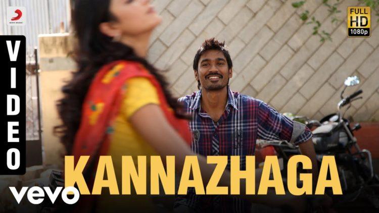 Kannazhaga Song Video | 3 Tamil Movie Songs | Shruti Haasan Hits