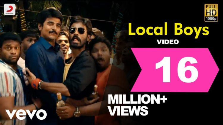 Local Boys Video | Ethir Neechal Movie Songs