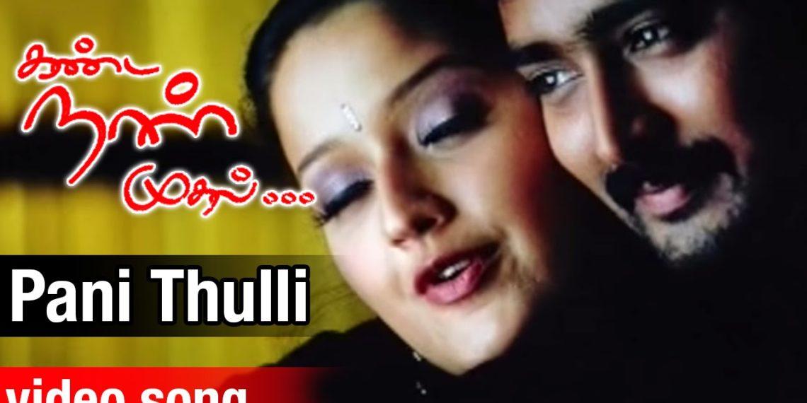 Pani Thulli Video Song | Kanda Naal Mudhal Tamil Movie Songs