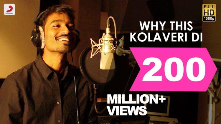 Why This Kolaveri Di Video | 3 Tamil Movie Songs | Anirudh Hits