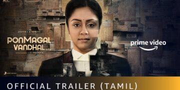 Ponmagal Vandhal Movie Trailer