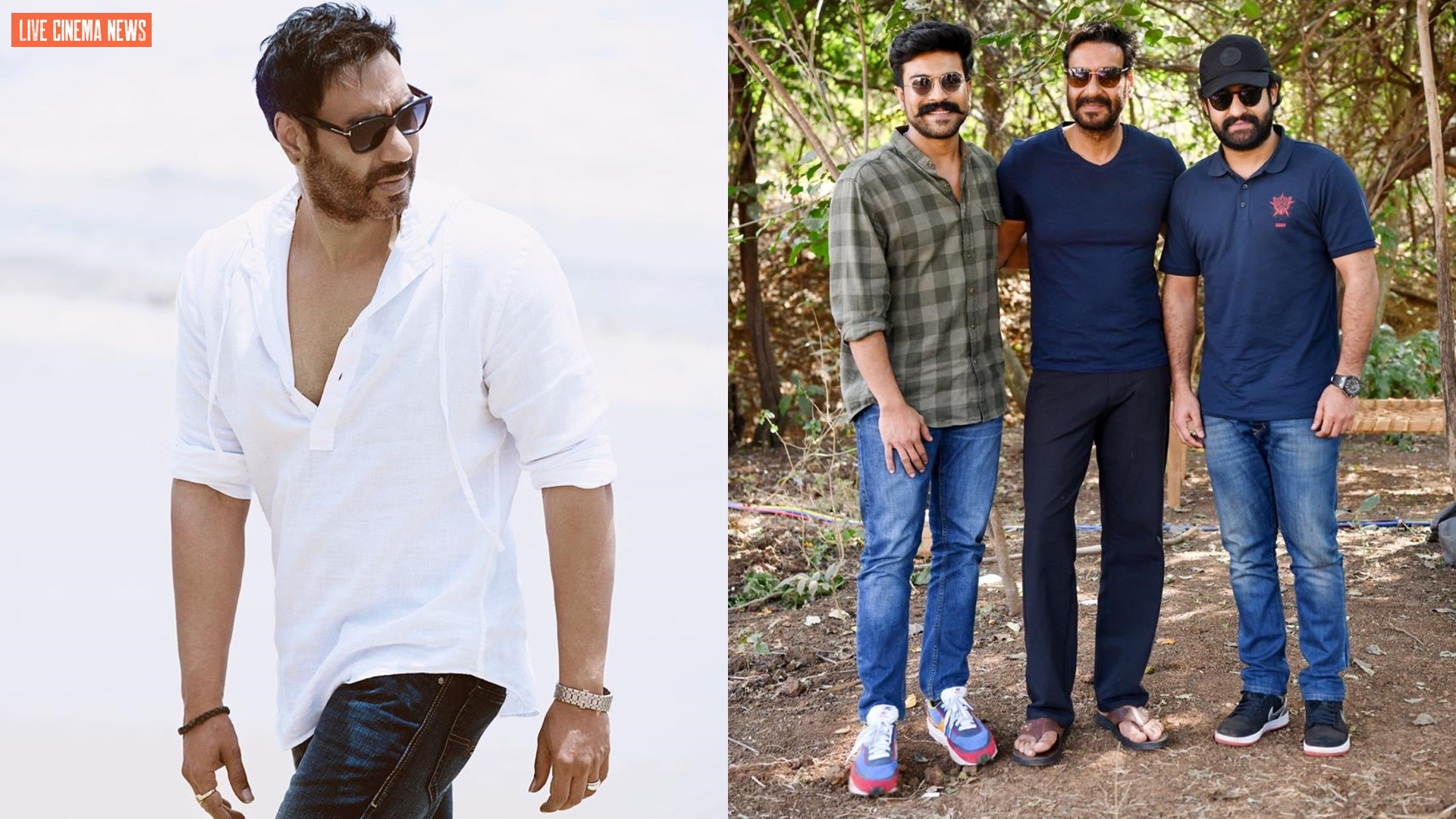 Ajay Devgn's optimistic note: The stylish picture with caption