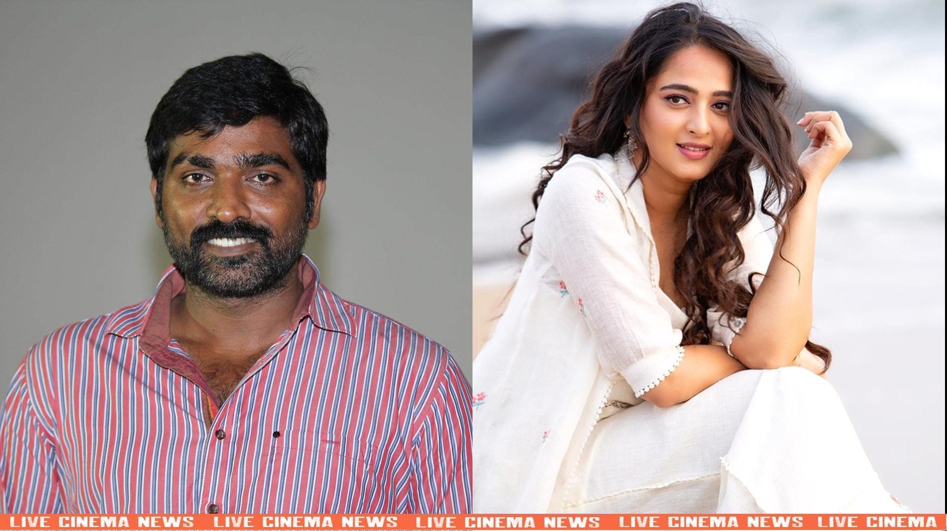 Anushka to pair with Vijay Sethupathi