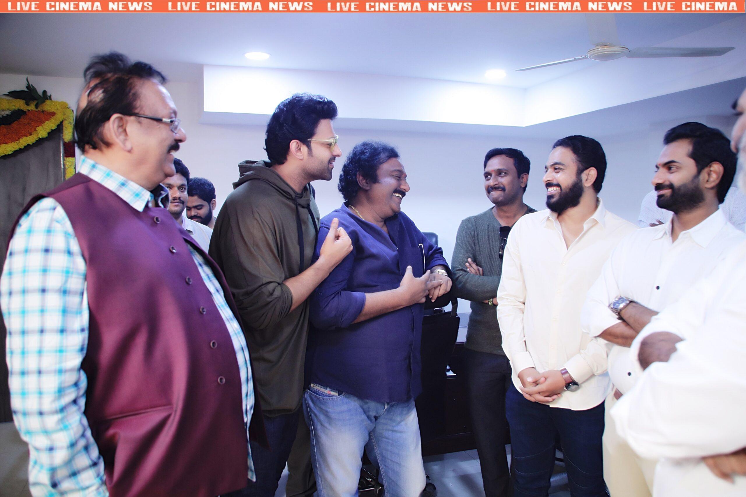 prabhas 20 movie (Pooja) opening ceremony - 4