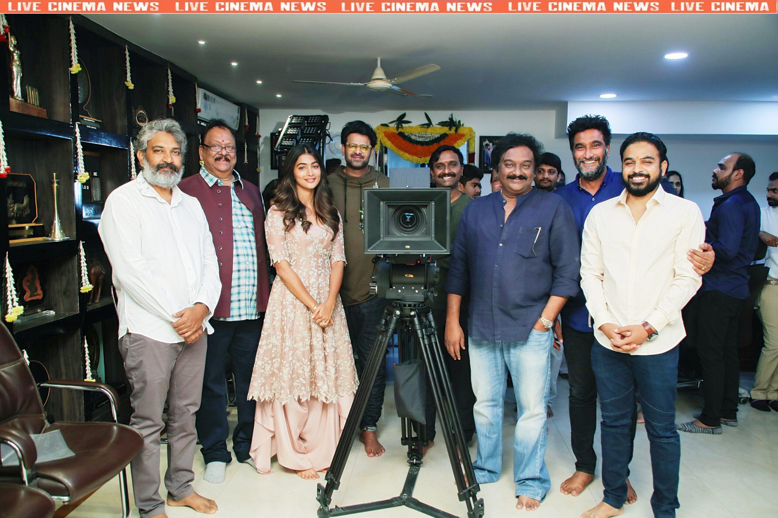 prabhas 20 movie (Pooja) opening ceremony - 8