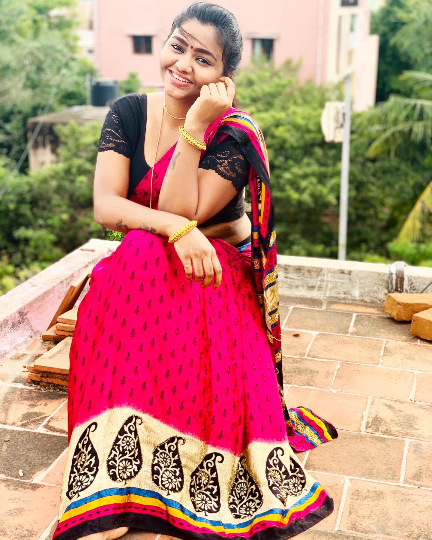shalu shamu in saree_3