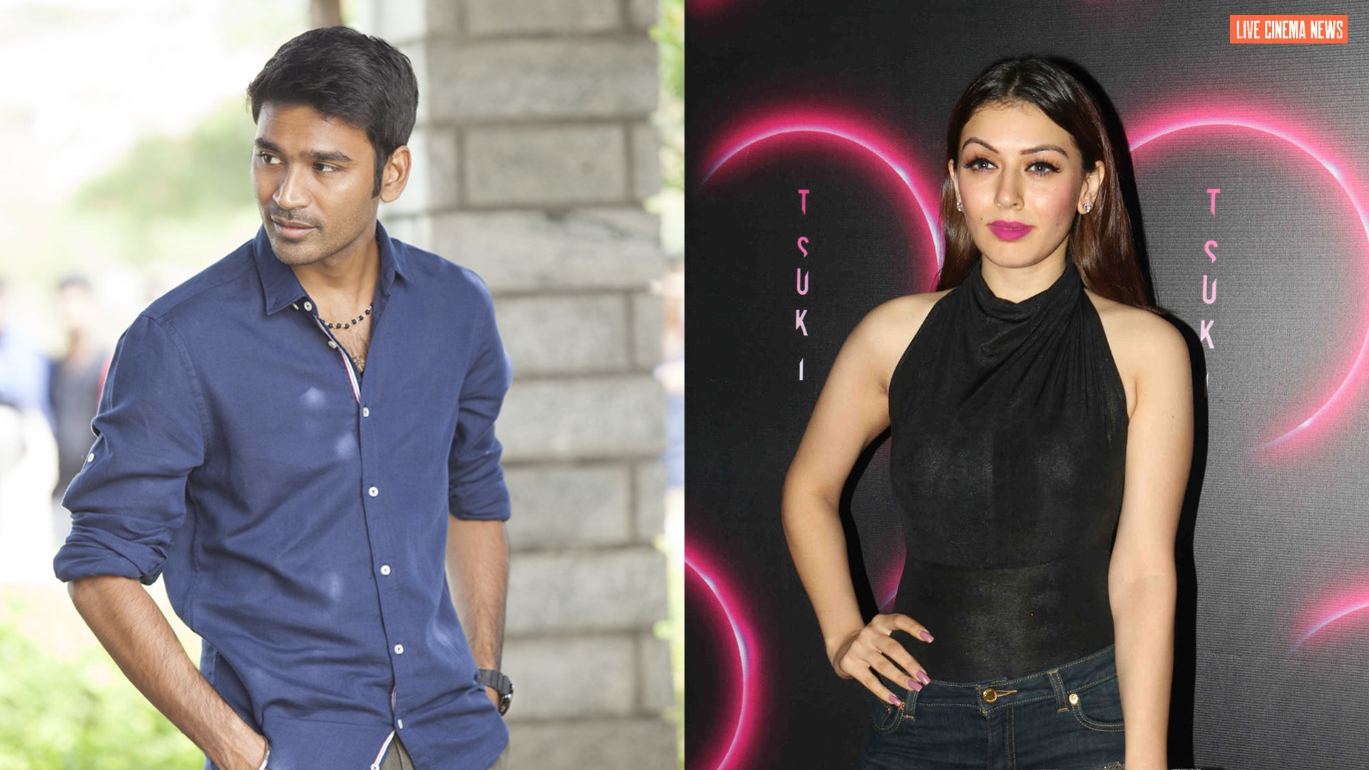 Hansika Motwani is again paired with Dhanush 44