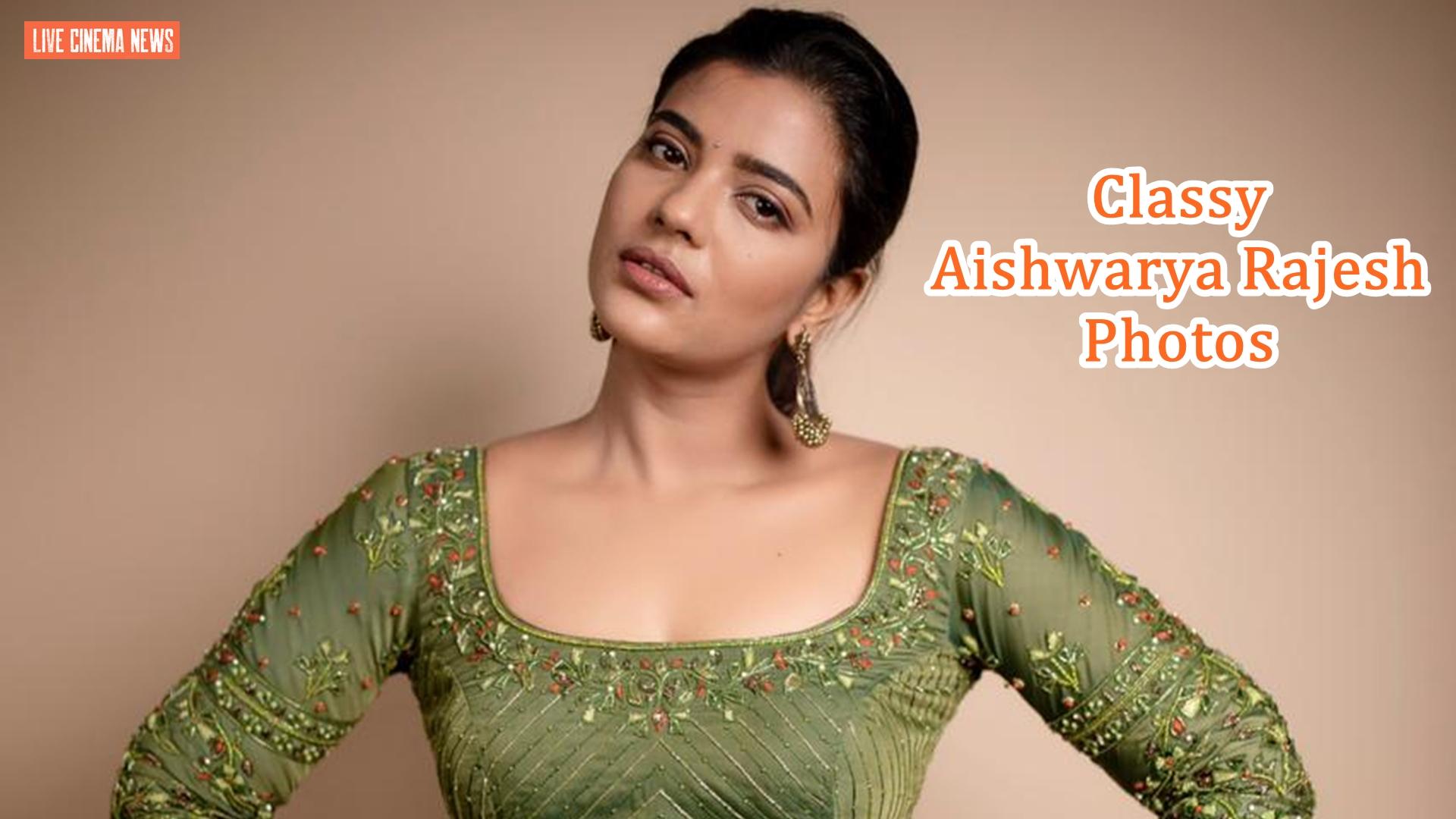 Classy Aishwarya Rajesh Photos