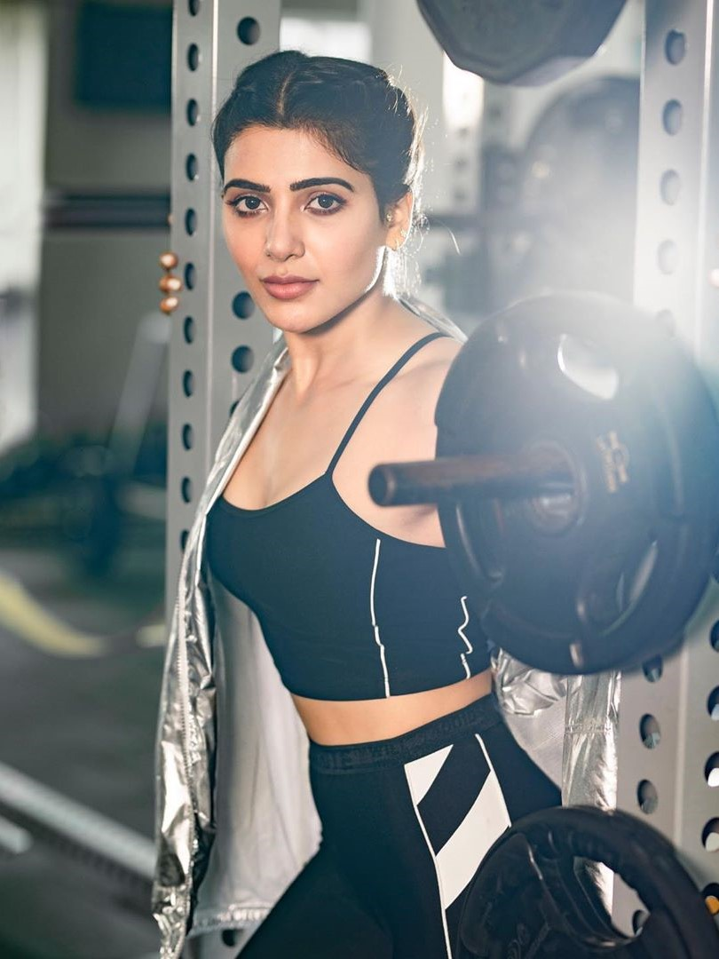 Samantha Akkineni Latest Workout Stills