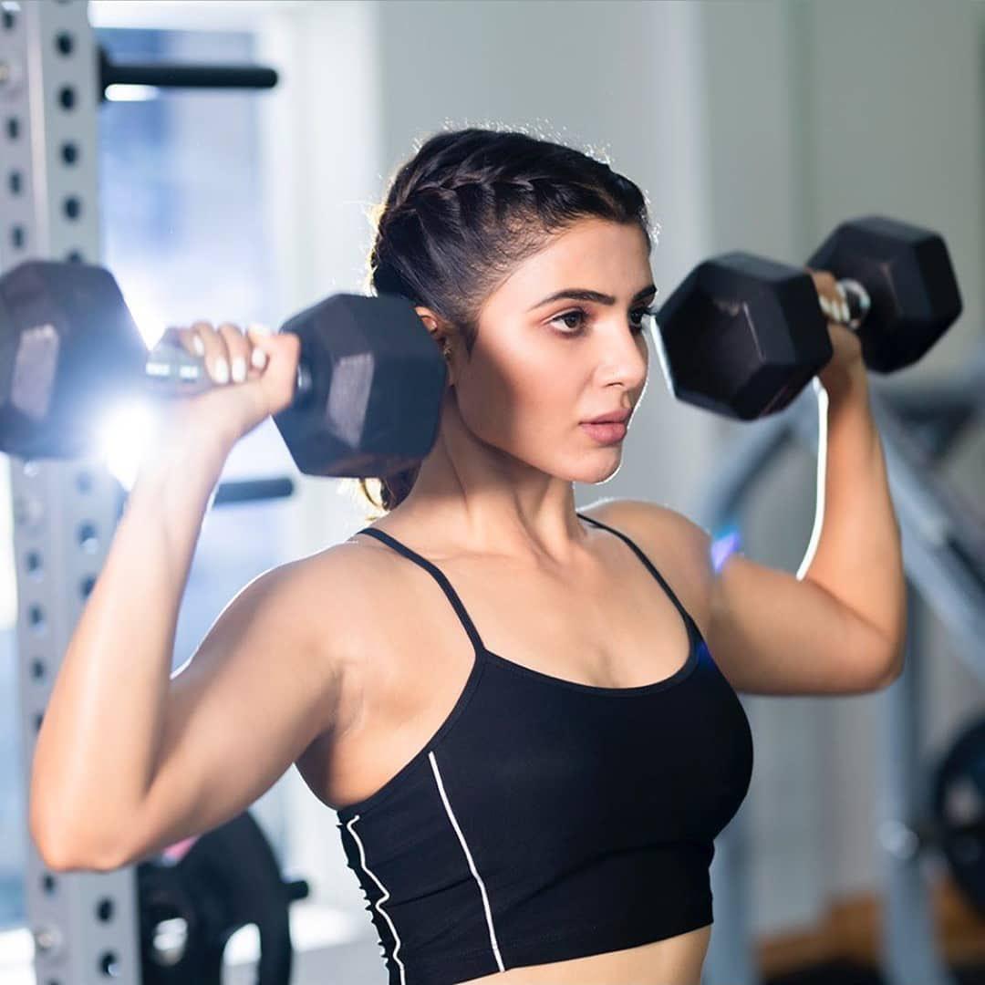 Samantha Akkineni Latest Workout Stills