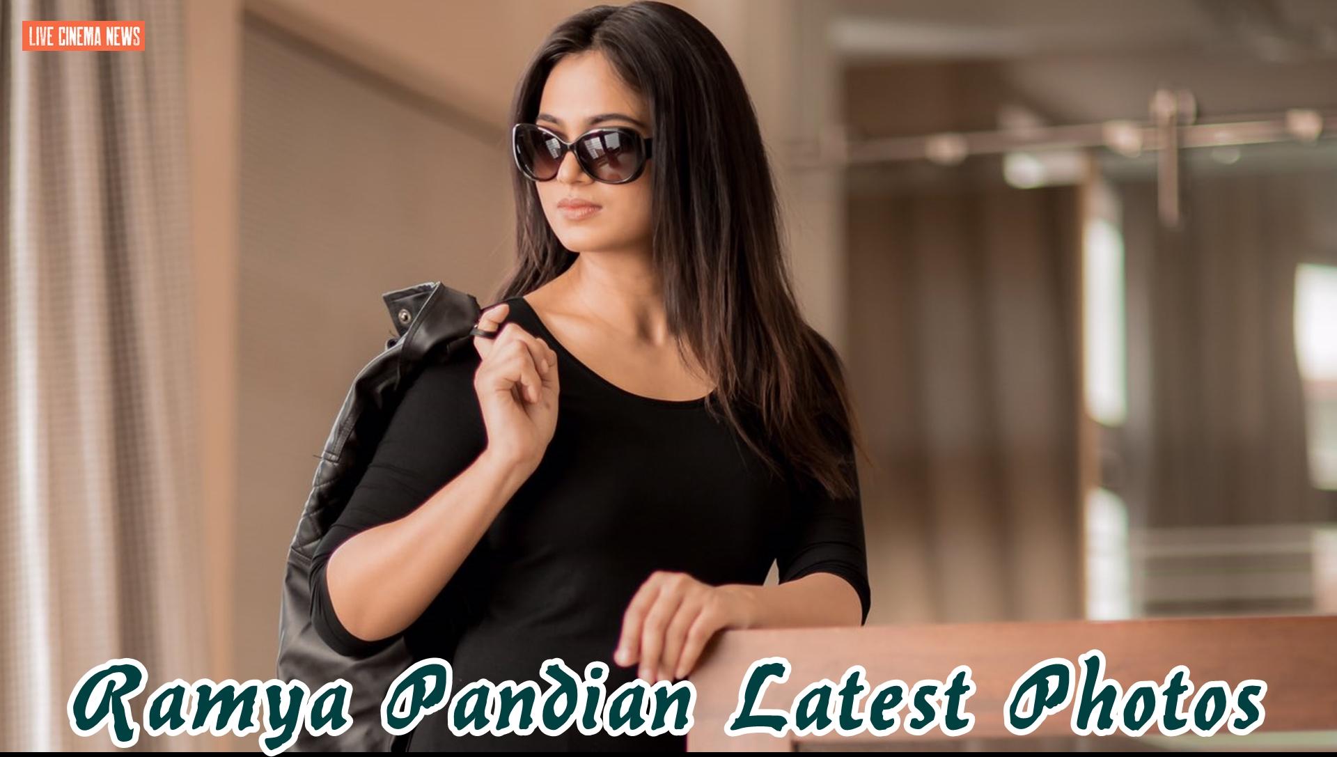 Ramya Pandian Latest Photos