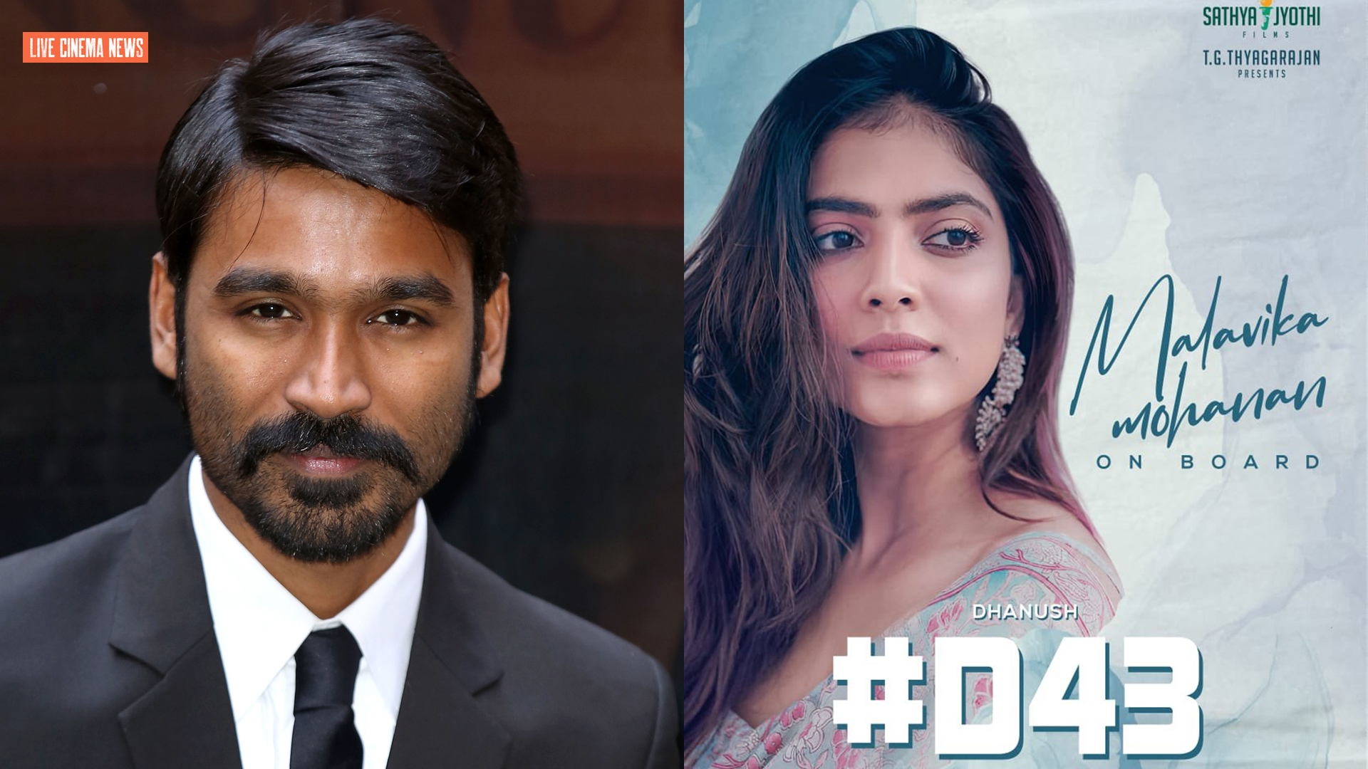 """Dhanush is paired with """"Master"""" movie heroine"""