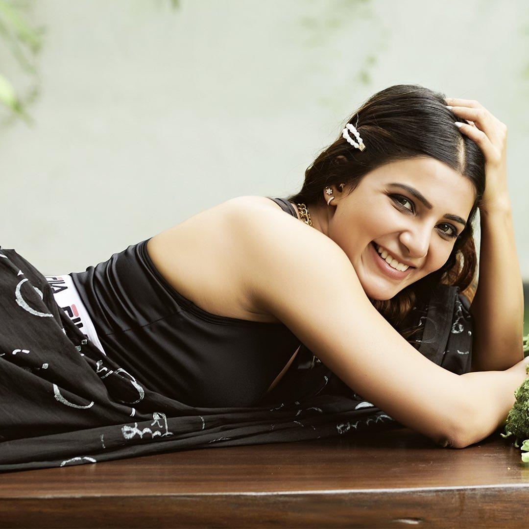 Samantha Akkineni New Saree Photos HD