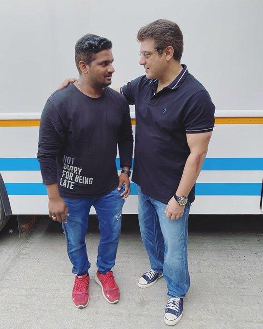 Actor Ajith Kumar Latest Pic