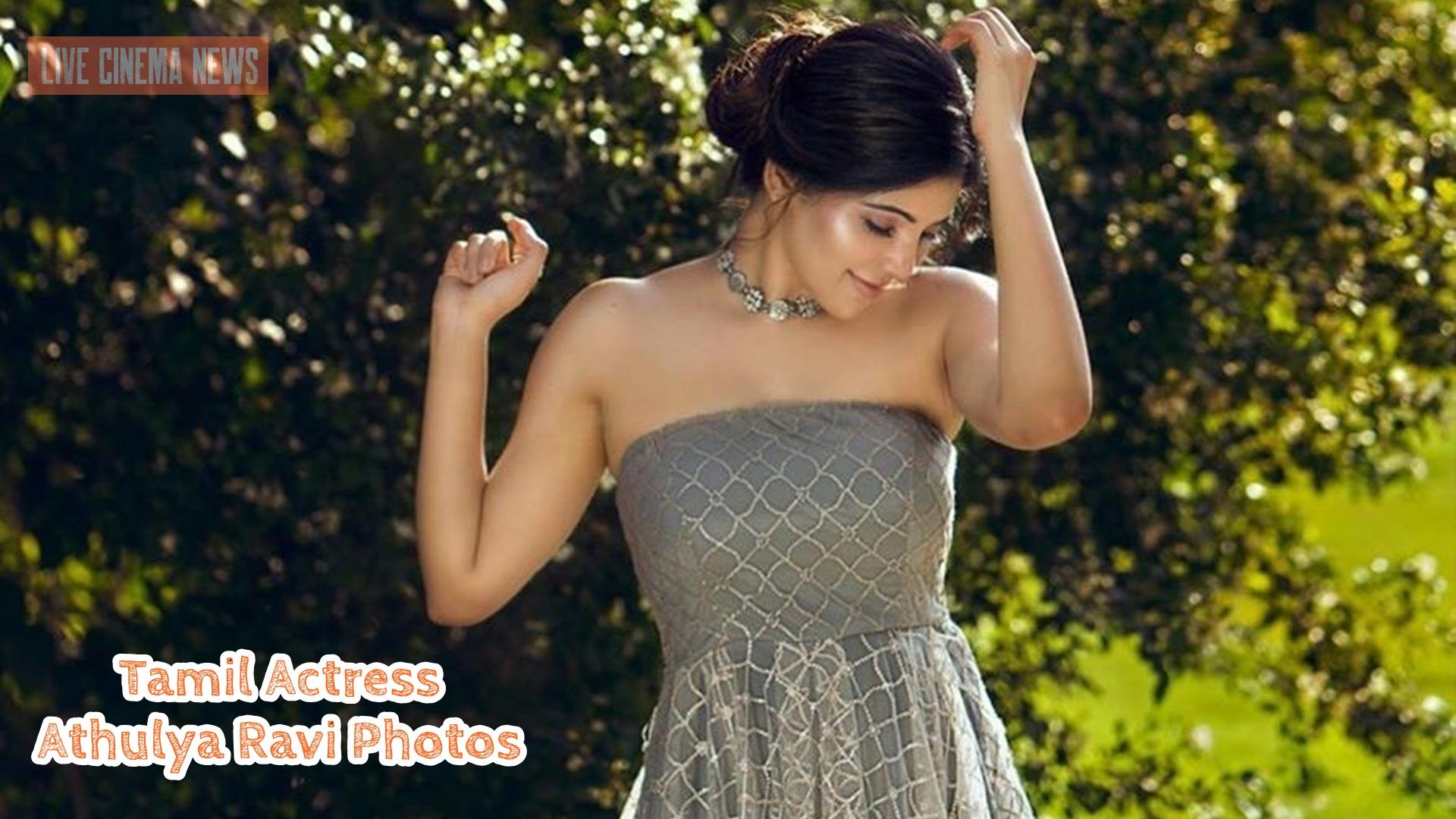 Tamil Actress Athulya Ravi Photos