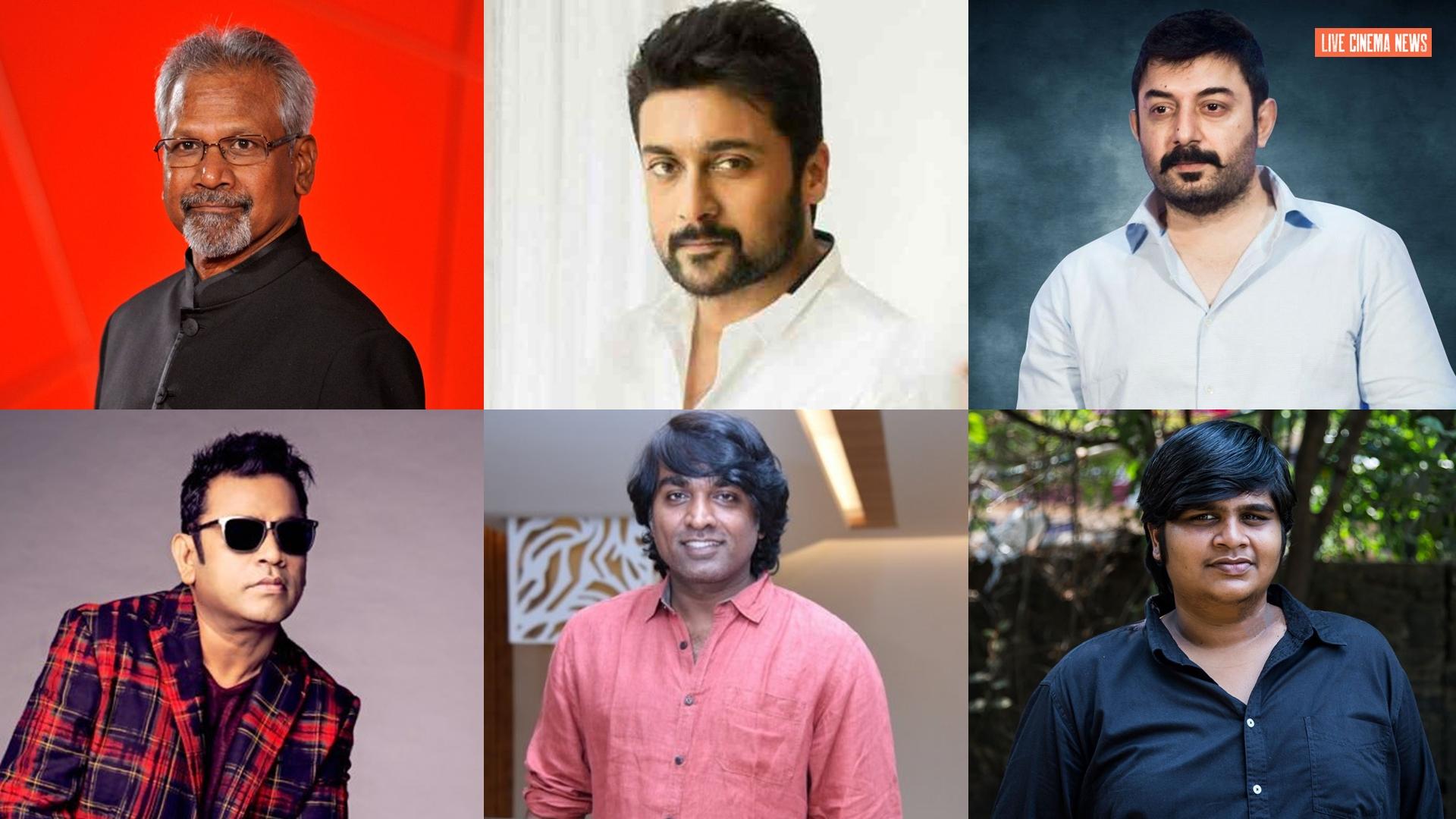 Top directors unite for Mani Ratnam's Netflix series