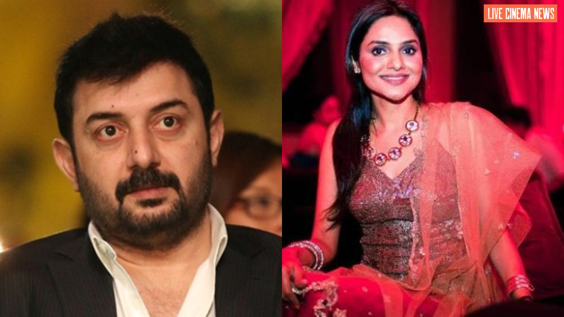 With Thalaivi Madhoo reunites with Arvind Swamy after a long time