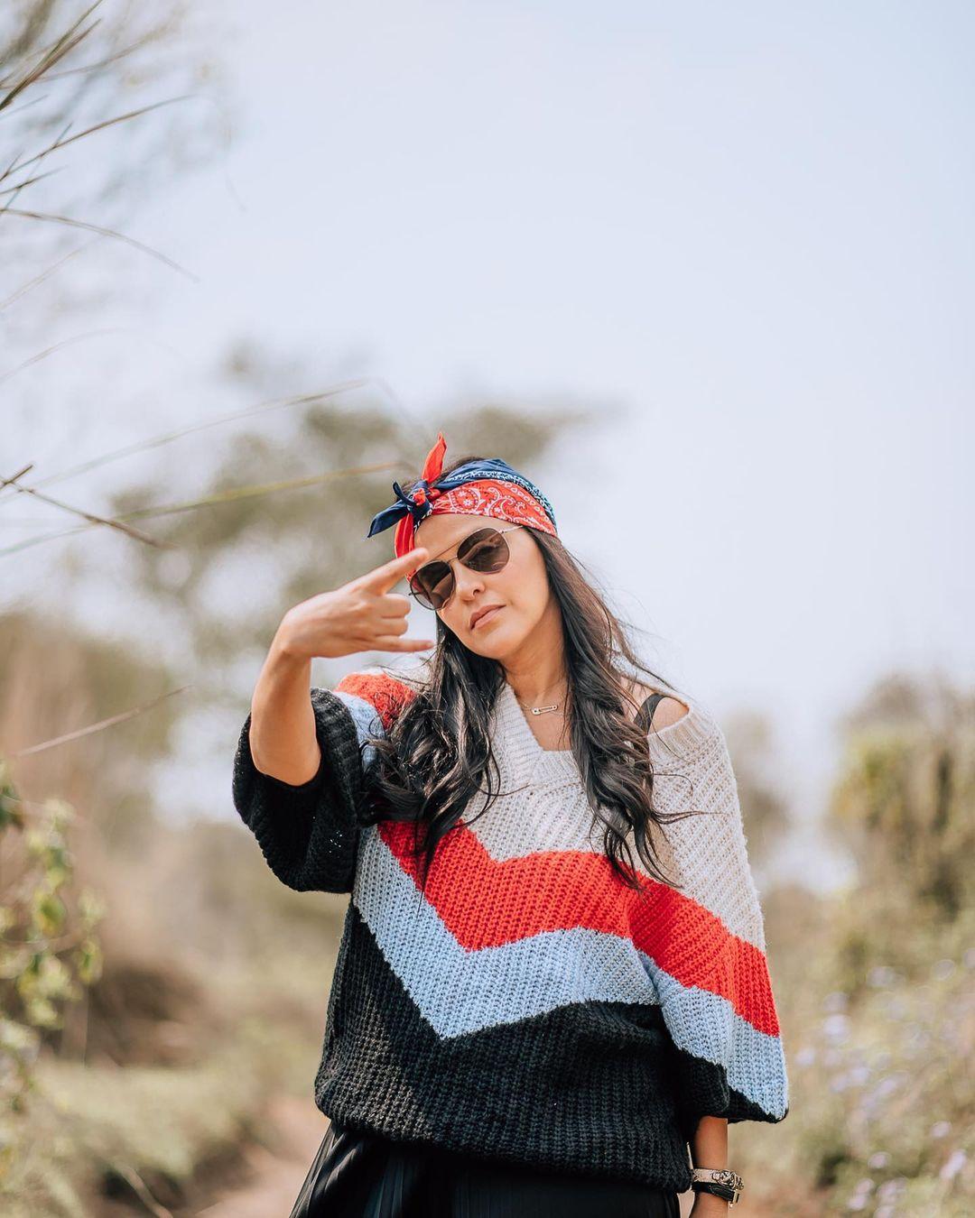 Actress Neha Dhupia Instagram Images (39)