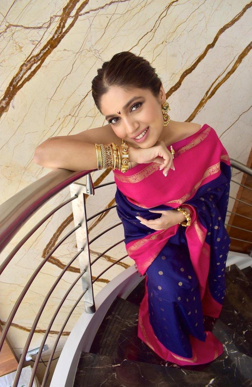 Bhumi Pednekar Latest Saree Photos
