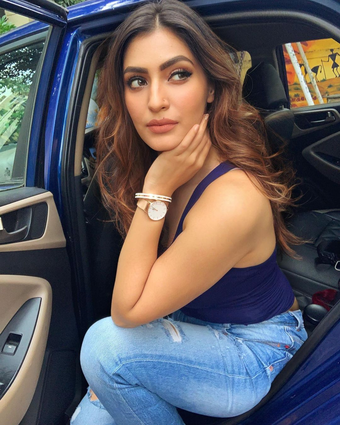 Indian TV actorsess Shivangi Verma Latest Pics (6)