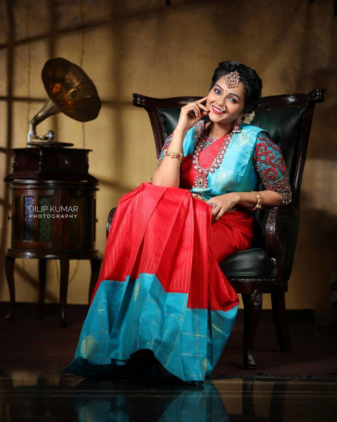 Poove Poochudava Serial Actress Krithika Laddu Latest Photos (1)