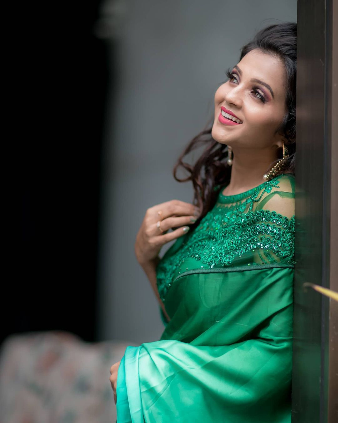 Poove Poochudava Serial Actress Krithika Laddu Latest Photos (14)