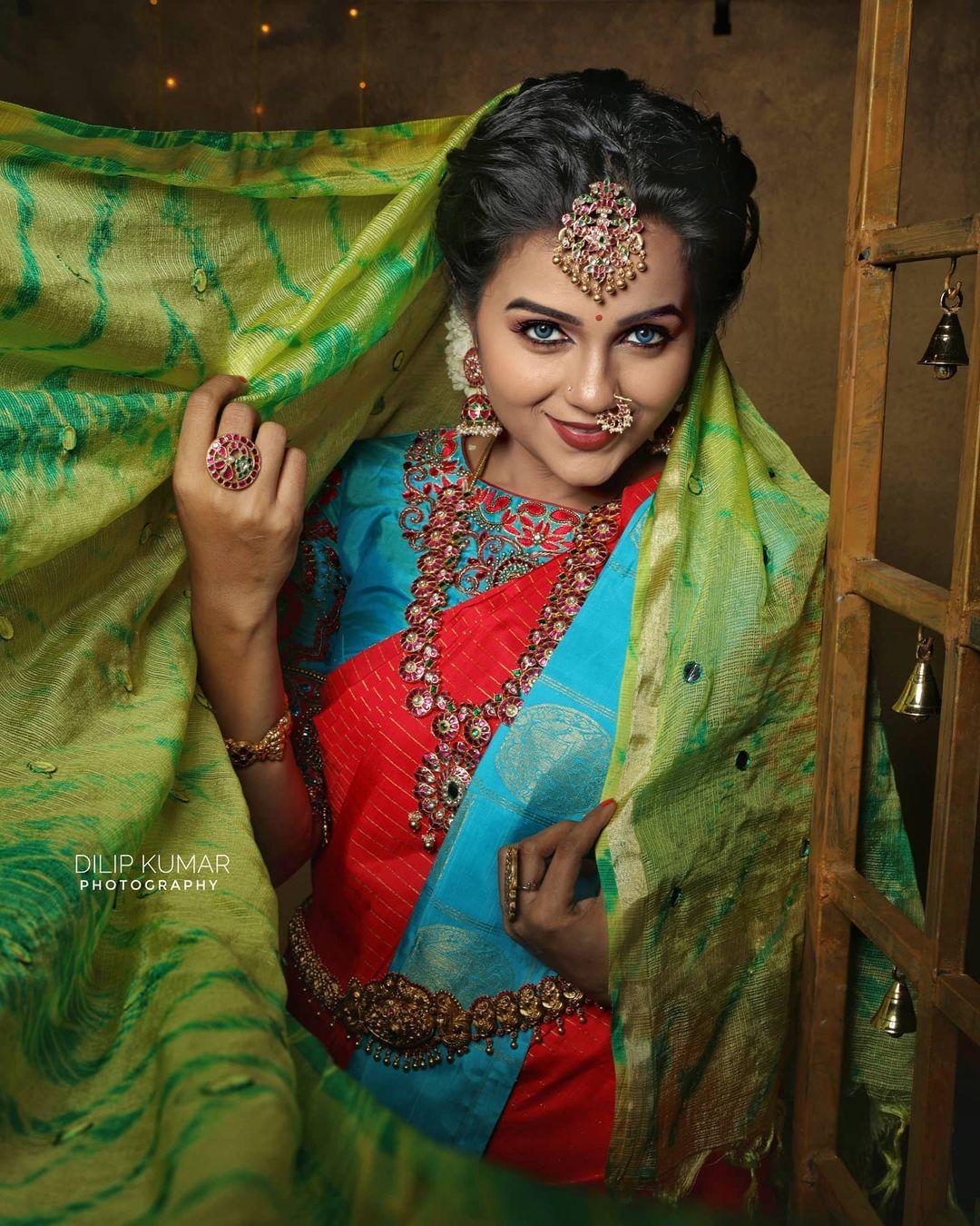 Poove Poochudava Serial Actress Krithika Laddu Latest Photos (2)