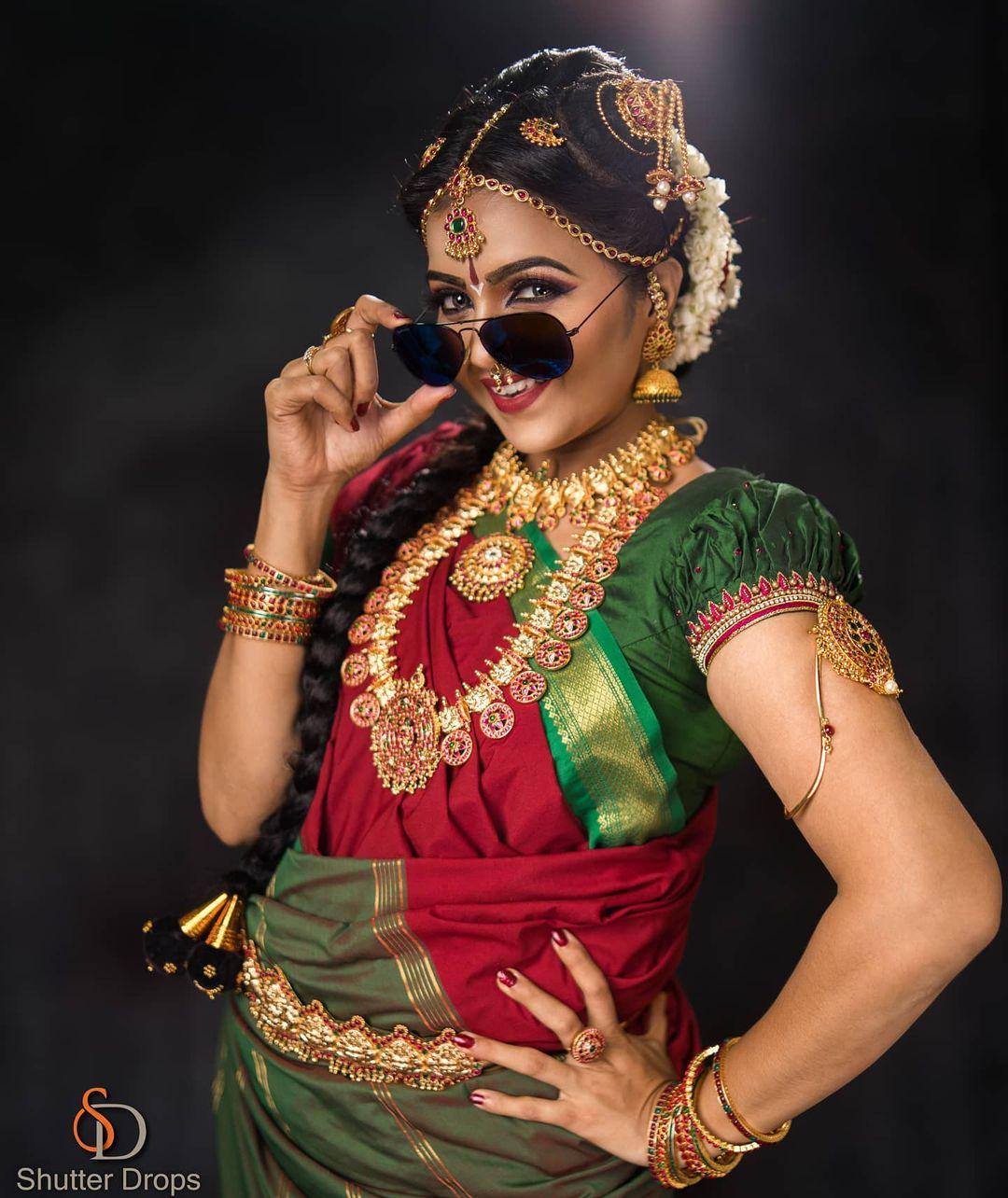 Poove Poochudava Serial Actress Krithika Laddu Latest Photos (3)