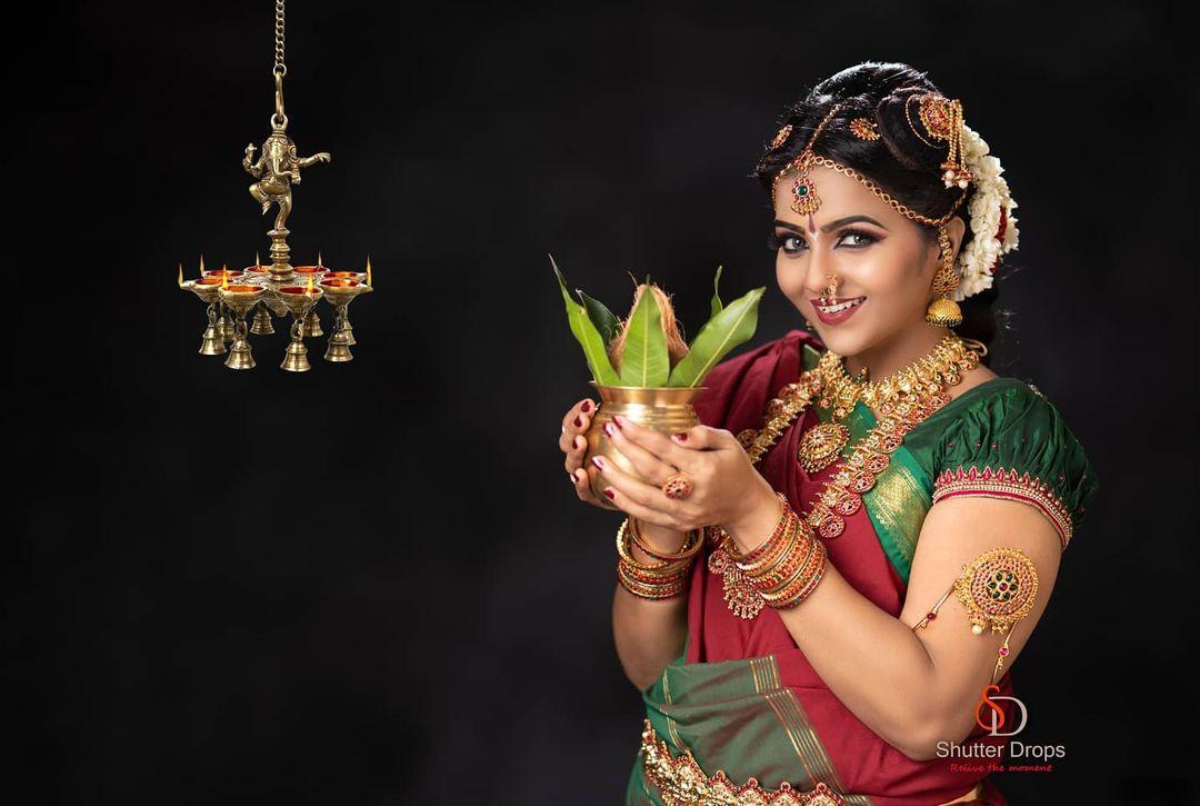 Poove Poochudava Serial Actress Krithika Laddu Latest Photos (4)