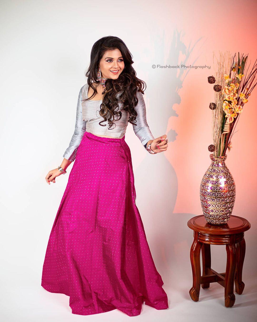 Poove Poochudava Serial Actress Krithika Laddu Latest Photos (8)